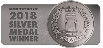 Dublin Craft Beer Cup 2018 Silver Medal