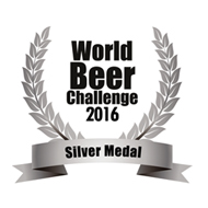 World Beer Challenge 2016 Silver Medal